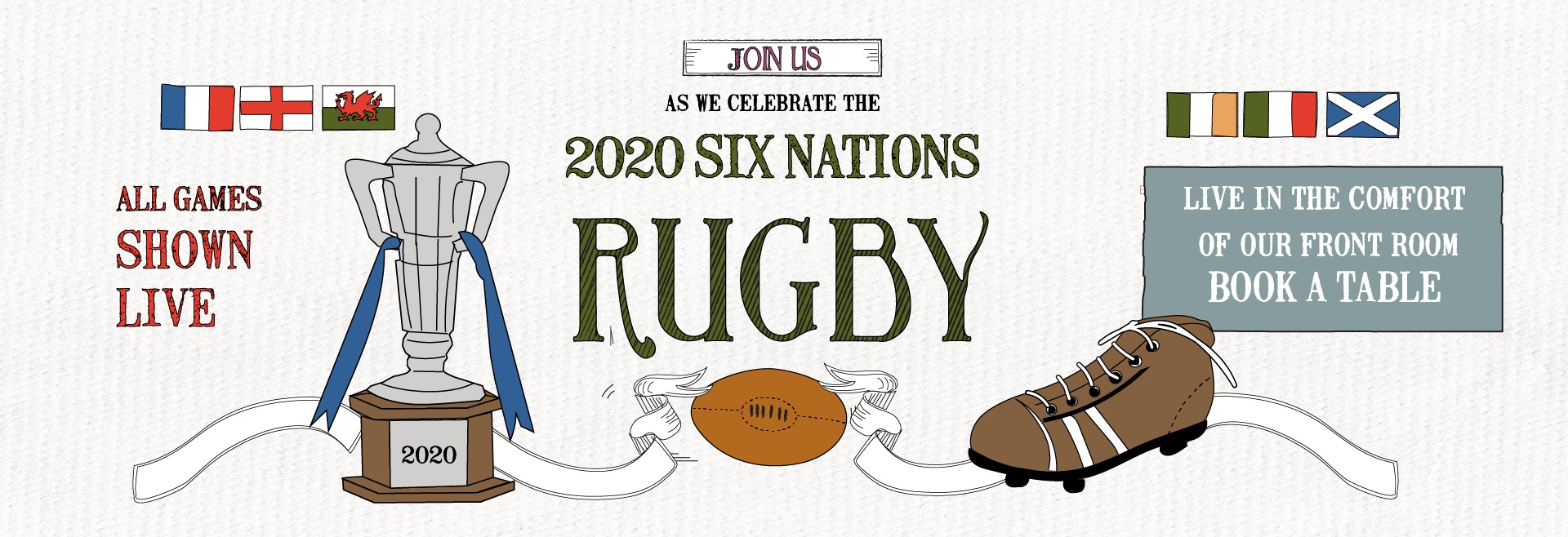 Six Nations at The Clifton
