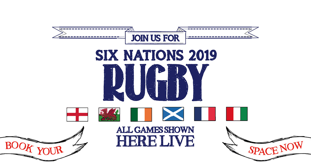 Watch the 6 Nations at The Clifton in Bristol